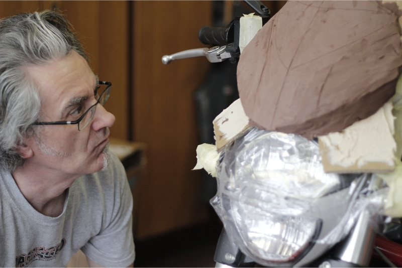 Fullsix monster by John Keogh_Front fairing
